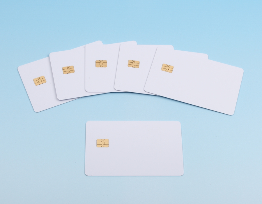 Memory chip cards