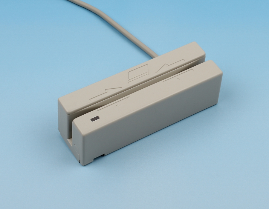 LowCost magnetic card reader